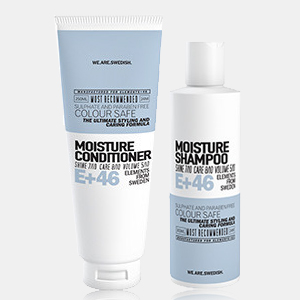 E+46 Moisture Shampoo 300ml and Conditioner 250ml